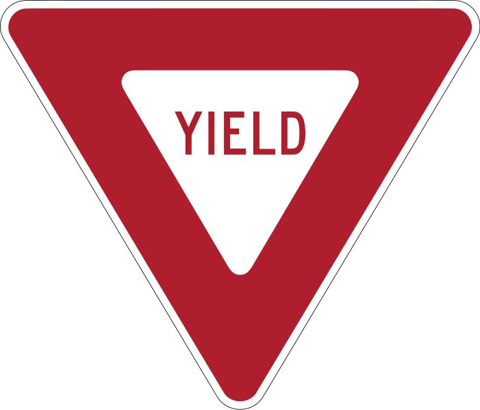 The Yield Sign: Give Way. Speed Up. | arslocii: placeness ...