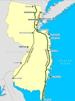 NJ turnpike system